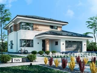 Проект двухэтажного дома TMV 16 от TMV Architecture company