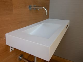 Solid Surface - Peças customizadas por Arqsize Minimalista