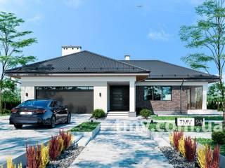 Проект одноэтажного дома TMV 94 от TMV Architecture company