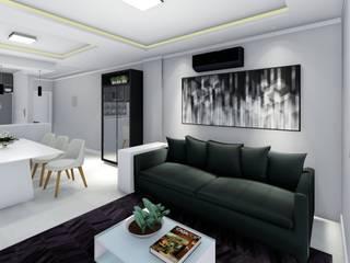 LK Engenharia e Arquitetura Salones modernos