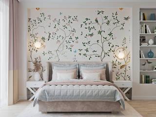 Дуплекс вторая часть. Спальня в классическом стиле от Мария Ничипоренко Классический
