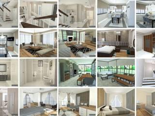 Modern Living Room by Gesa İç Mimarlık Modern