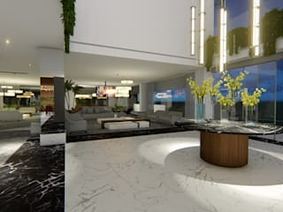 Modern hotels by Arquitetura Sônia Beltrão & associados Modern