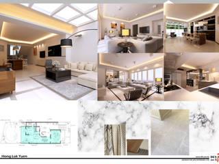 Hong Lok Yuen ( Hong Kong ) by design for life interiors limited Minimalist