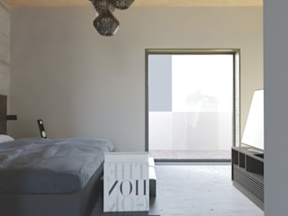 Modern style bedroom by Alexander Chivico & Architects Modern