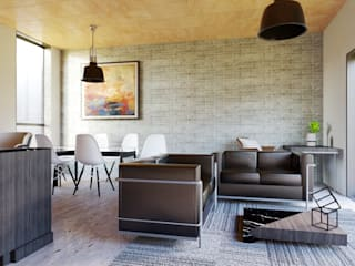 Modern living room by Alexander Chivico & Architects Modern