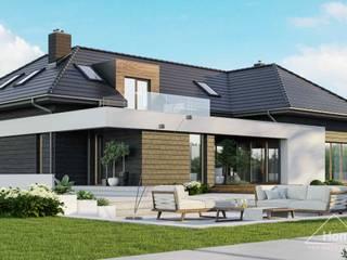 Projekt domu HomeKONCEPT 13 ENERGO HomeKONCEPT   Projekty Domów Nowoczesnych