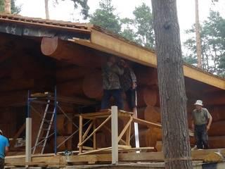 """Баня из кедра из большого бревна от 60 см """"Медвежий угол"""" от Медвежий лог - дома из кедра"""