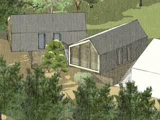 Alle fronde dei salici Case moderne di OrBiTa - Architettura oltre lo spazio Moderno