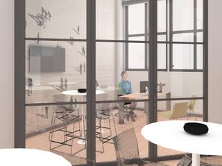 Phòng học/văn phòng phong cách hiện đại bởi OrBiTa - Architettura oltre lo spazio Hiện đại