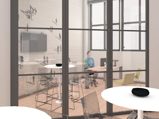 Moderne studeerkamer van OrBiTa - Architettura oltre lo spazio Modern