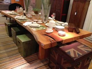 Camacã Design em Madeira غرفة السفرةطاولات خشب نقي