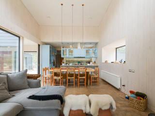 Casa Catapilco Cocinas de estilo moderno de BGA Moderno