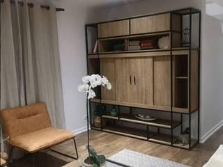 RACK DE TV MODERNO :  de estilo industrial por Deco Bauhaus, Industrial