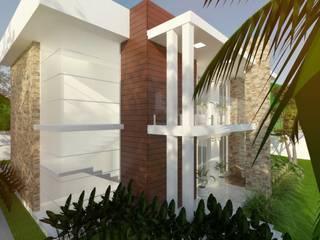 CASA LO Cíntia Schirmer | arquiteta e urbanista Condomínios Tijolo Branco