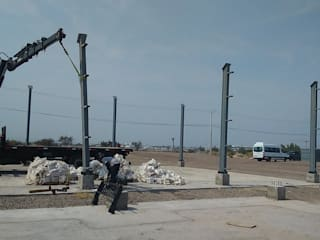 Obra Aeropuerto de M&C Construcciones Moderno