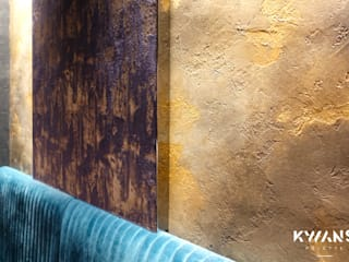 Special paint finishes Modern walls & floors by Kwan's Palette Limited Modern