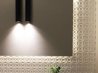 G-305 Scandinavian style living room by studio aarushi bafna Scandinavian