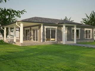 Hafif Çelik Yapılar Modern Bahçe BOTA YAPI Modern