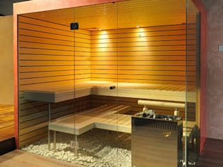 Glass in saunas 根據 Ion Glass 簡約風