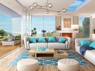 Interior 3D Renders by D3D Architectural Visualisation Tropical