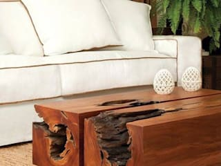 Camacã Design em Madeira Living roomTV stands & cabinets Solid Wood