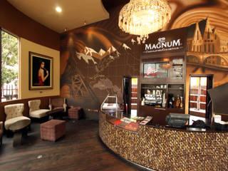 Magnum Boutique TR arquitectos Bares y clubs de estilo moderno