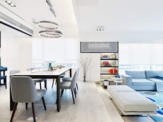 Modern Living Room by A Square Ltd Modern
