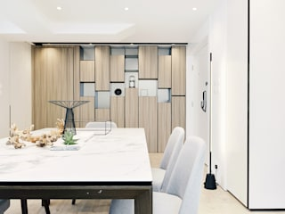 Modern Dining Room by A Square Ltd Modern