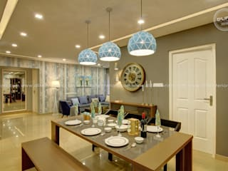 DLIFE Home Interiors Modern dining room