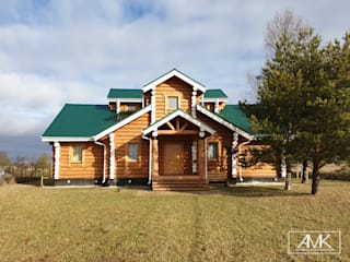 Country style house by Архитектор Михаил Кузин Country