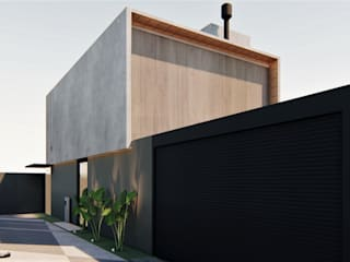 D arquitetura Walls Concrete Grey