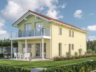 BALANCE Einfamilienhäuser – Moderne Traumhäuser für die optimale Ausnutzung kompakter Grundstücke Bien-Zenker Landhaus Gelb