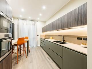 Progettazione d'interni appartamento Torino Sara Togni Cucina moderna