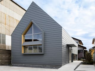 group-scoop Multi-Family house Metal Grey