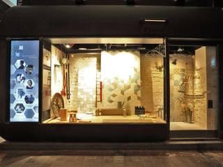 Impression Design Workshop Ltd Lojas e Espaços comerciais industriais