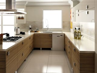 levent tekin iç mimarlık Modern kitchen