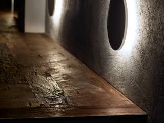 Spazio Niko Romito Bar & Club in stile industrial di palmieri Illuminotecnica Industrial