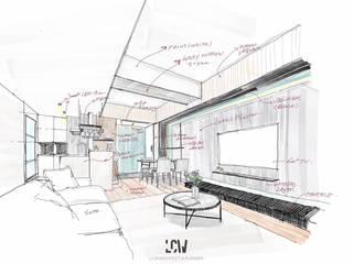L HOUSE: 現代  by 林全偉建築師事務所, 現代風