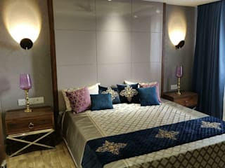 Modern Bed Room Interior: modern  by White Cube Designs,Modern