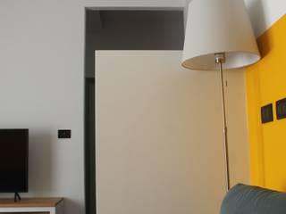 PtrX Studio di Mattia Patrassi Ruang Keluarga Minimalis