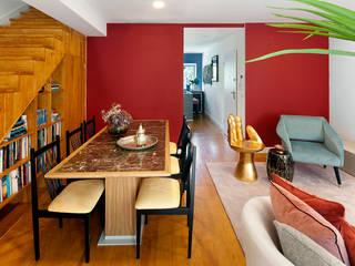 OMNU_Creative Houses Ruang Makan Gaya Eklektik