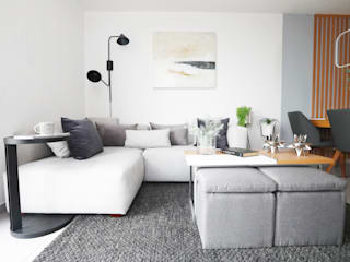 loop-d Modern living room Grey