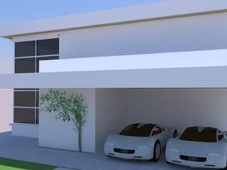 Residência FL Lisiane Leoni Arquitetura e Urbanismo Casas familiares