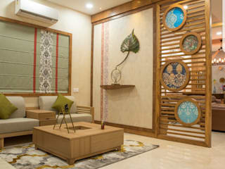 3BHK Apartment @Aparna Sarene Park in Hyderabad.: modern  by Inside Storiez,Modern