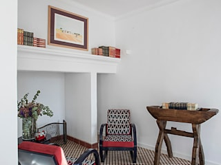 Sala de Leitura Hotéis campestres por OMNU_Creative Houses Campestre