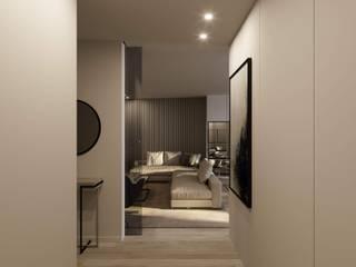 Apartamento SP por Ricardo Pontes, Arquitetos Moderno
