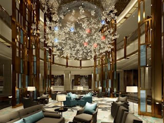 John Chan Design Ltd Hoteles Ámbar/Dorado