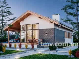 Проект стильного одноэтажного дома TMV 78 от TMV Architecture company