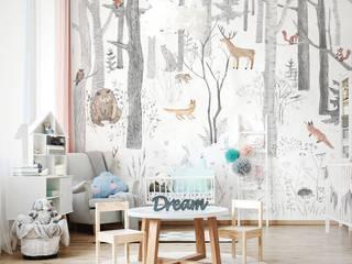 Обои FAIRY TALE Детская комнатa в скандинавском стиле от FACTURA Скандинавский